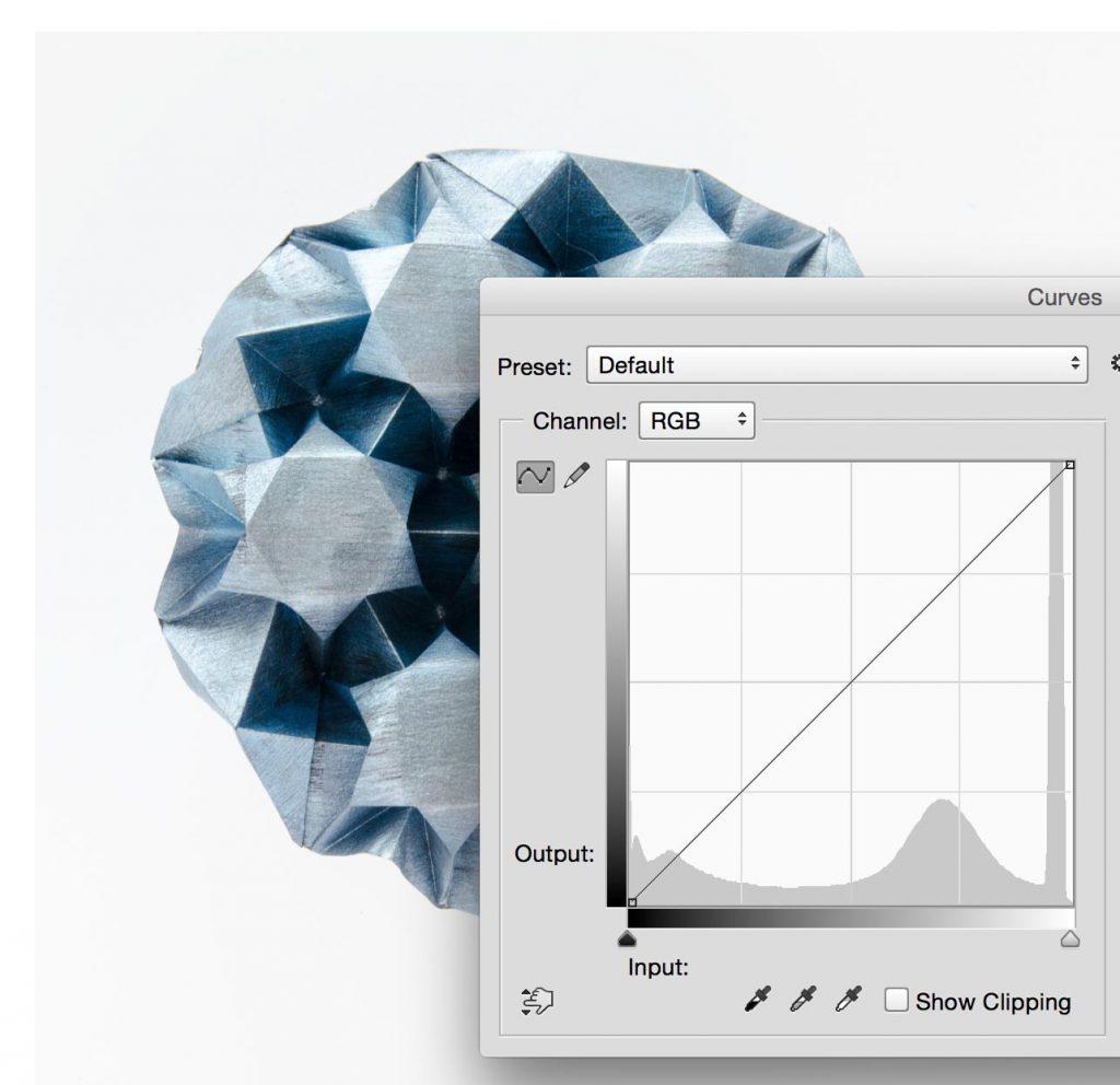 editing origami pictures
