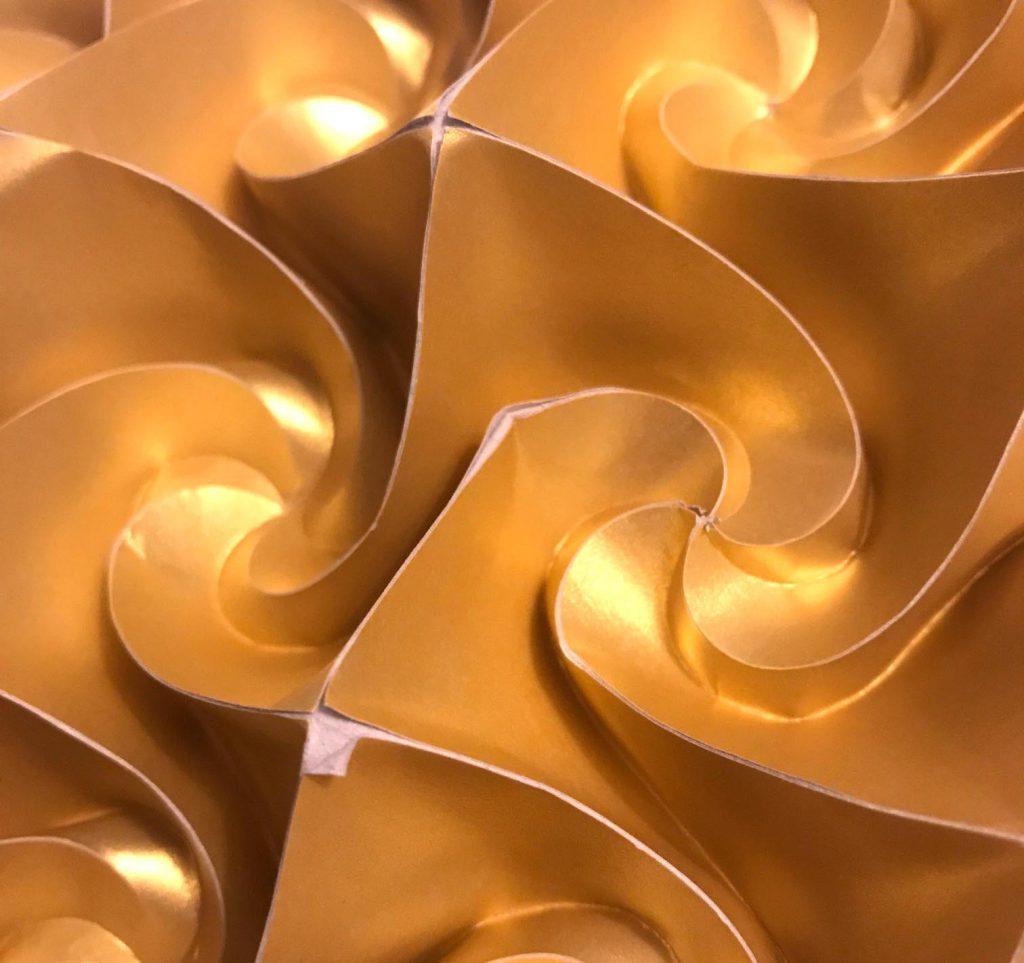 damaged origami