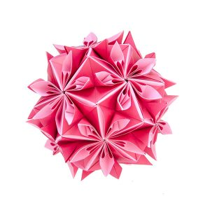 modular origami kusudama from the new origami book